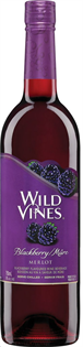 Wild Vines Merlot Blackberry 750ml - Case of 12